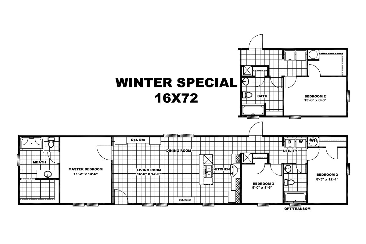 The Winter Special 16x72