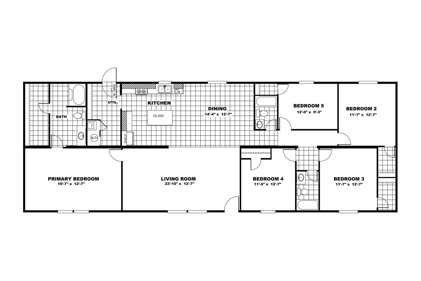 triumph floor plan